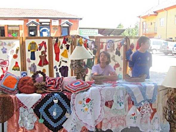 "Exhibition ""Old Crafts"" in Bela Palanka"